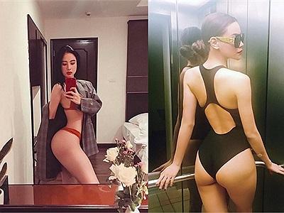 """Bỏ xa Ngọc Trinh, Angela Phương Trinh với vòng 3 cực khủng đã chính thức trở thành """"nữ hoàng bikini"""" 2017"""