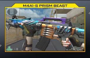 """Sau Athena, đến lượt """"tắc kè hoa"""" M4A1-S Prism Beast được tặng miễn phí cho game thủ?"""