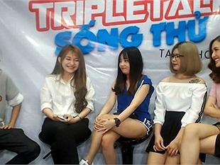 """Khi QTV làm MC cùng 4 cô gái xinh đẹp của FFQ chém gió về việc """"sống thử"""" của giới trẻ hiện nay"""