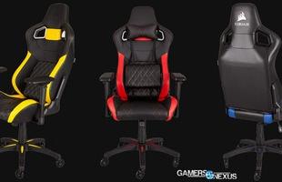 Thứ 2 tuần sau, Corsair sẽ bán ghế chơi game mới tại Việt Nam, ngồi lên tự động biến thành gosu trong game!