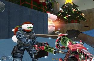Trên tay bộ vũ khí Giáng Sinh đẹp nhất trong lịch sử Đột Kích