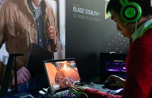 Bên trong gian hàng của Razer, thiên đường mơ ước của mọi game thủ