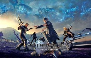 """May quá, Final Fantasy XV """"chỉ"""" nặng có 155GB mà thôi….!"""