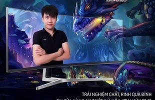 Cơ hội trải nghiệm Samsung CHG90 - Màn hình gaming lớn nhất thế giới hoàn toàn miễn phí cho game thủ Việt