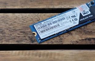 WD Black PCIe NVMe 256GB: Trải nghiệm cảm giác tải game bằng SSD trong chớp mắt
