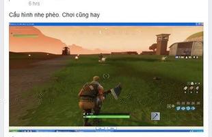 Hàng loạt chủ quán net Việt cài đặt Fortnite thay thế cho PUBG vì miễn phí mà cấu hình nhẹ hơn nhiều
