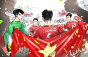 Thích mê loạt fanart về những hình ảnh đáng nhớ của đội tuyển U23 Việt Nam cưng muốn xỉu