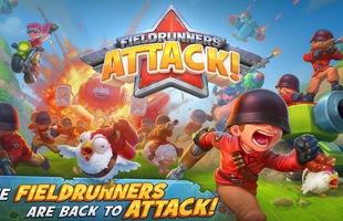 """Tải Fieldrunners Attack - Clash of Clans """"phiên bản súng ống"""" vừa cập bến Android"""